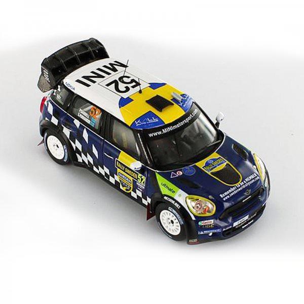 IXO | MINI John Cooper Works #52 Rally Sweden