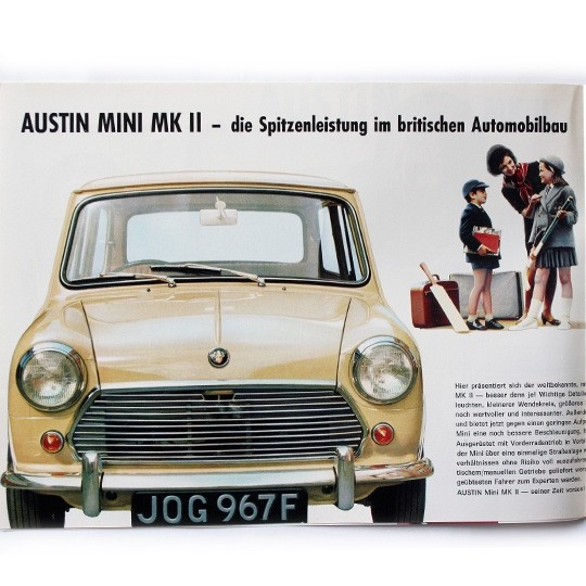 Austin Mini MK II Prospekt