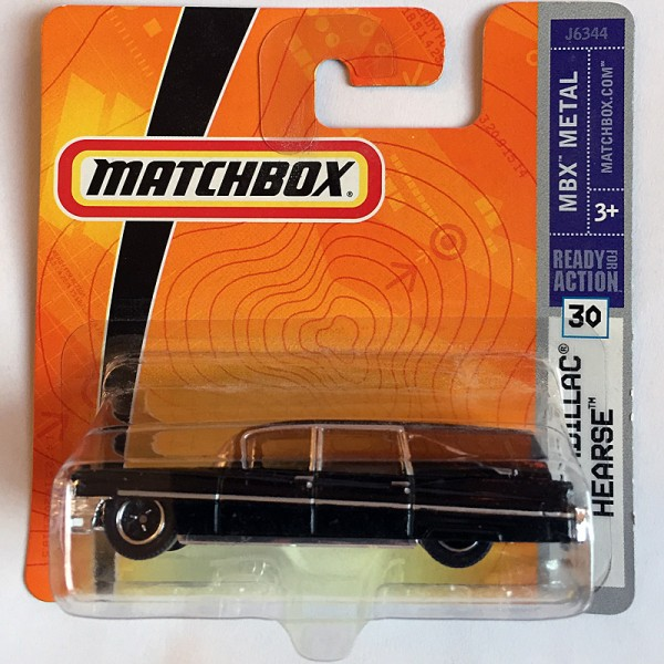 Matchbox | 1963 Cadillac Hearse schwarz