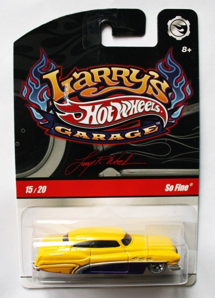 Hot Wheels | Larry's Garage So Fine gelb