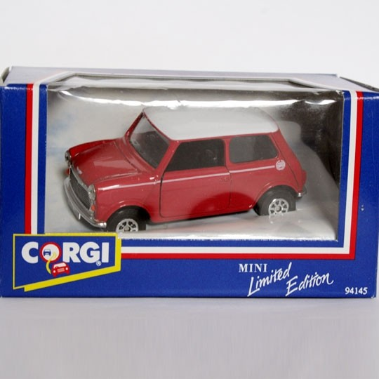 Corgi | Mini Cooper red