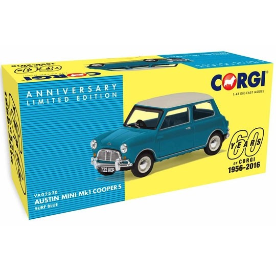Vanguards | Austin Mini Cooper S MK I Surf Blue