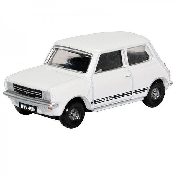 Oxford Diecast | Mini 1275 GT Glacier White