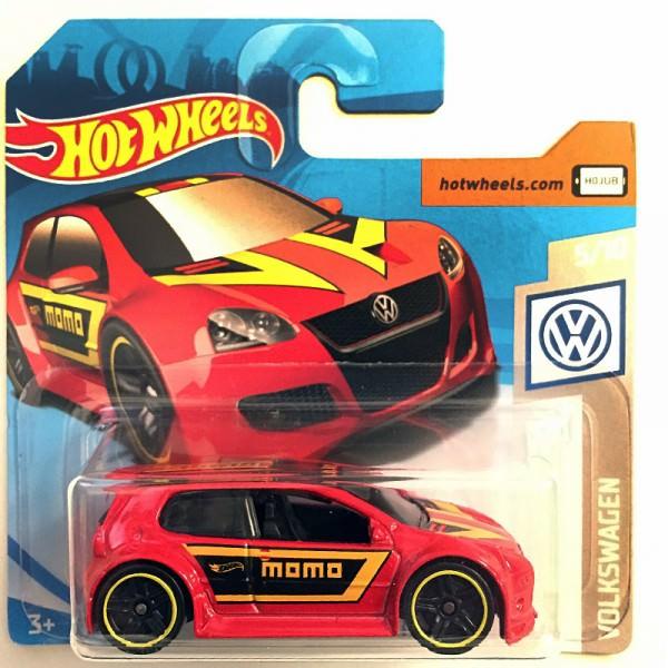 Hot Wheels | Volkswagen Golf GTI Momo rot