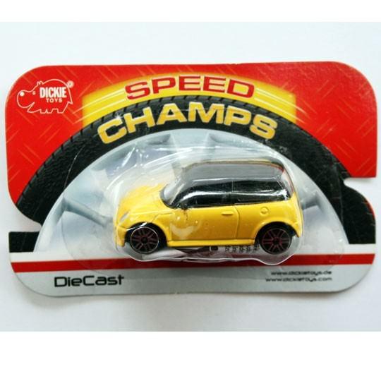 Dickie Diecast | Mini Cooper S gelb