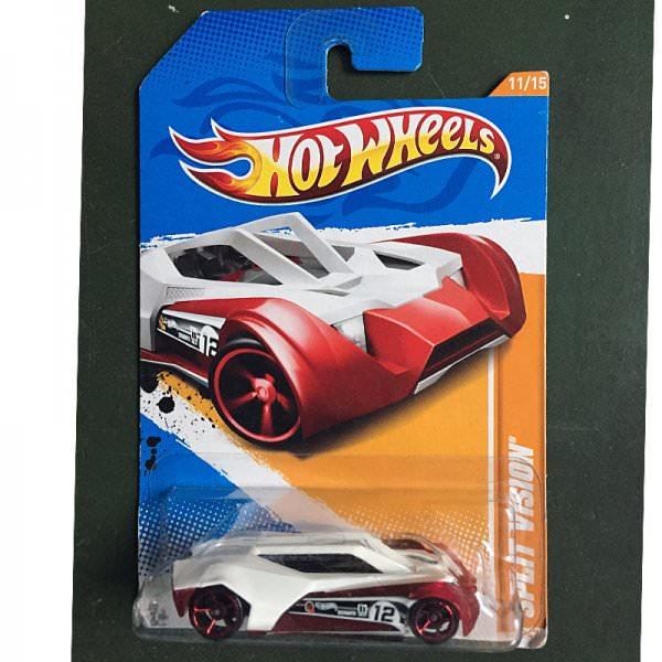 Hot Wheels | Split Vision red/white US