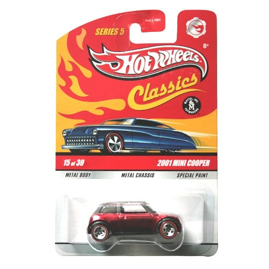 Hot Wheels | New MINI Cooper rotmetallic US Classics