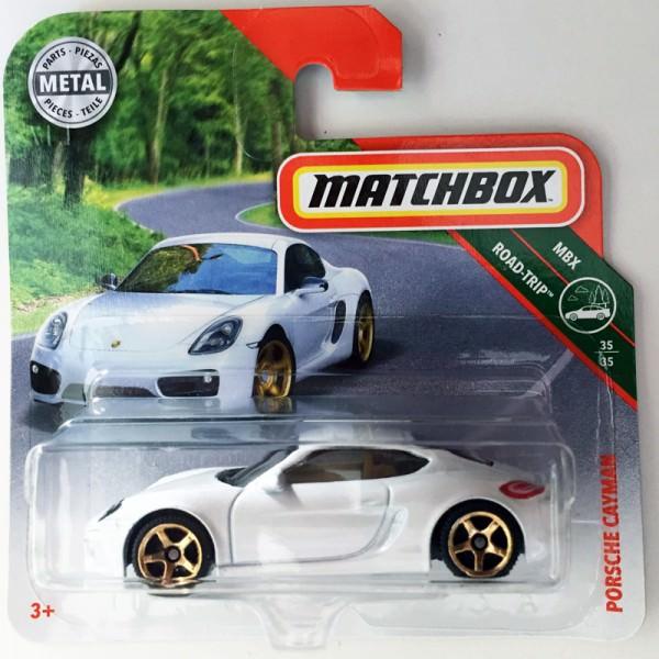 Matchbox | Porsche Cayman perlmutt weiß