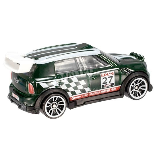 Hot Wheels | MINI Countryman Rally grün