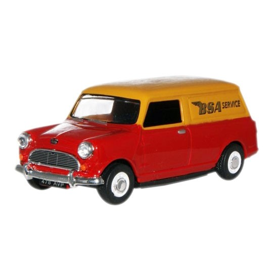 Oxford Diecast | Mini Van BSA Service