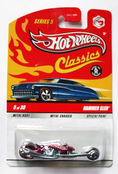 Hot Wheels | Classics Hammer Sled in spectral pink