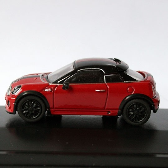 Oxford Diecast | BMW MINI Coupe rot / schwarz
