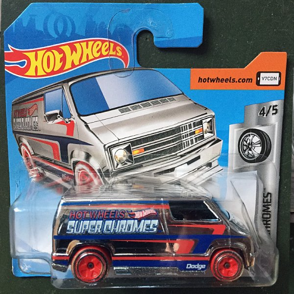 Hot Wheels | '77 Dodge Van Super Chromes