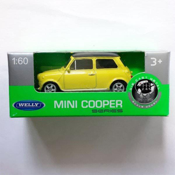 Welly   Innocenti Mini Cooper 1300 yellow