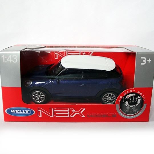Welly/NEX | MINI Cooper S Psceman violett