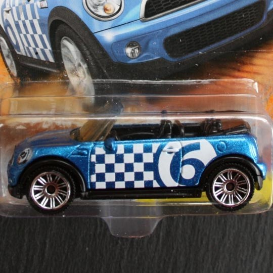 Matchbox | BMW MINI Cooper S Cabrio blau
