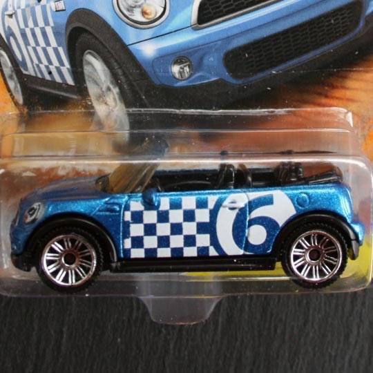 Matchbox Bmw Mini Cooper S Cabrio Blau Minimodelle24 De