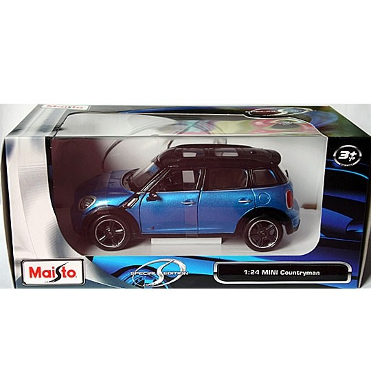 Maisto | BMW MINI Countryman blue metallic