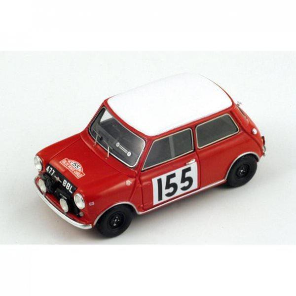 Spark | Morris Mini Cooper #155 Monte Carlo 1963