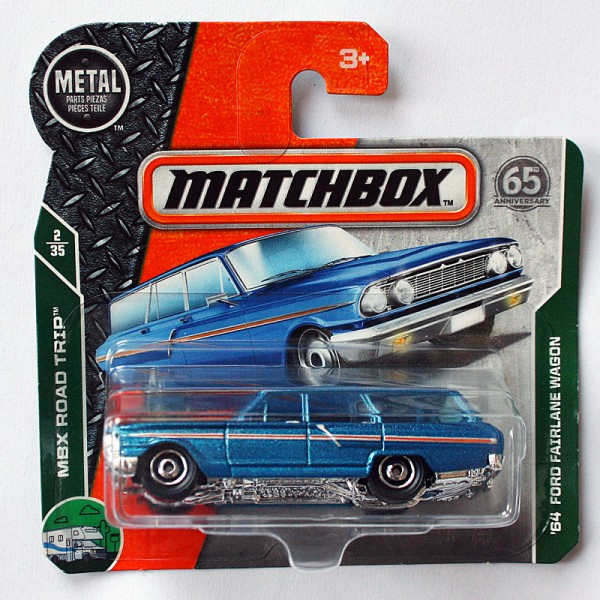 Matchbox | '64 Ford Fairlane Wagon blaumetallic