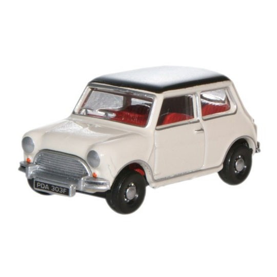 Oxford Diecast | Austin Mini weiß