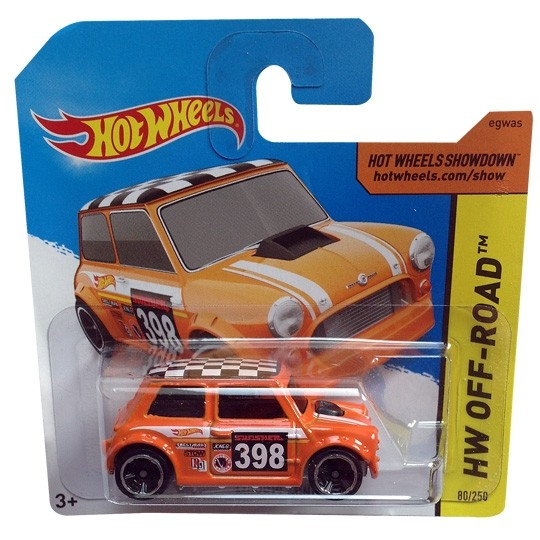 Hot Wheels | Morris Mini #398 orange