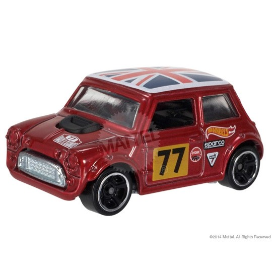 Hot Wheels | Morris Mini #77 red metallic US