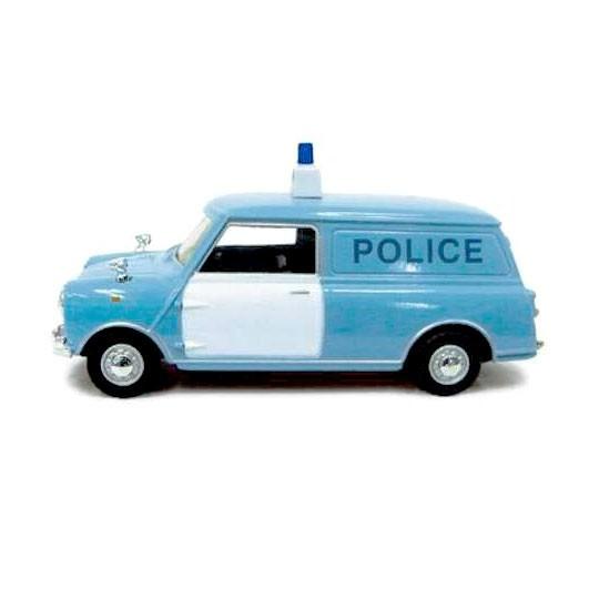 Cararama | Mini Van Police hellblau
