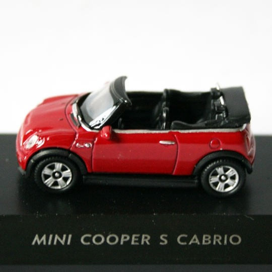 Welly | BMW Mini Cooper S Cabrio rot