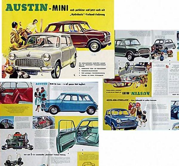 Austin Mini 850 Broschüre