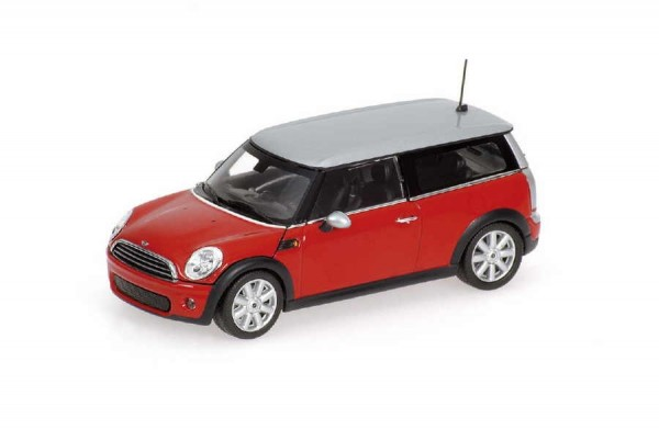 Minichamps | Mini Cooper Clubman chili red