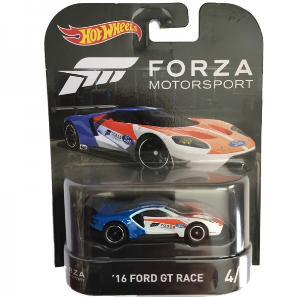 Hot Wheels | Retro Entertainment Forza Motorsport '16 Ford GT Race