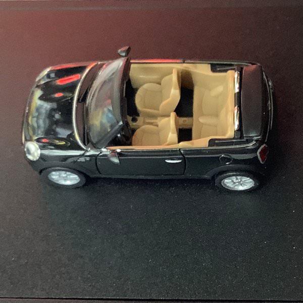 Herpa | MINI Cooper Cabrio R57 Midnight Black