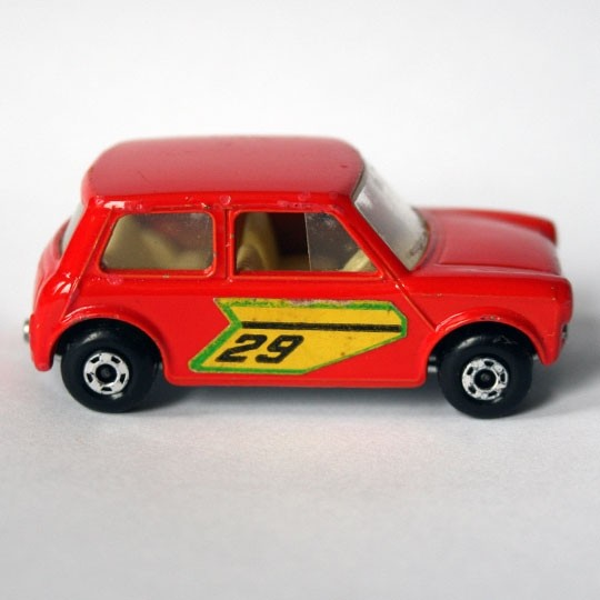 Matchbox | SF Racing Mini No 29 hellrot ohne Box
