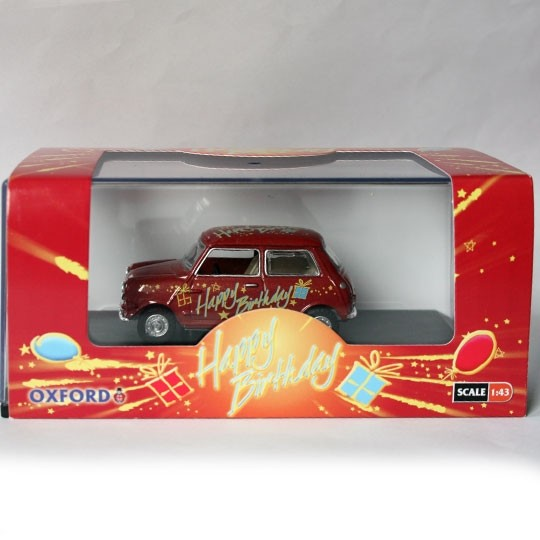 Oxford Diecast | Mini Happy Birthday