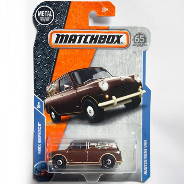 Matchbox | Austin Mini Van Chocolate Royal