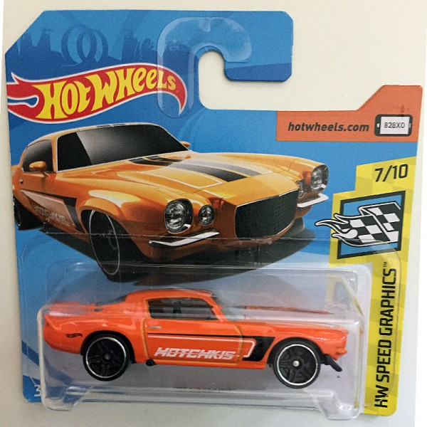 Hot Wheels | '70 Camaro, Hotchkis orange