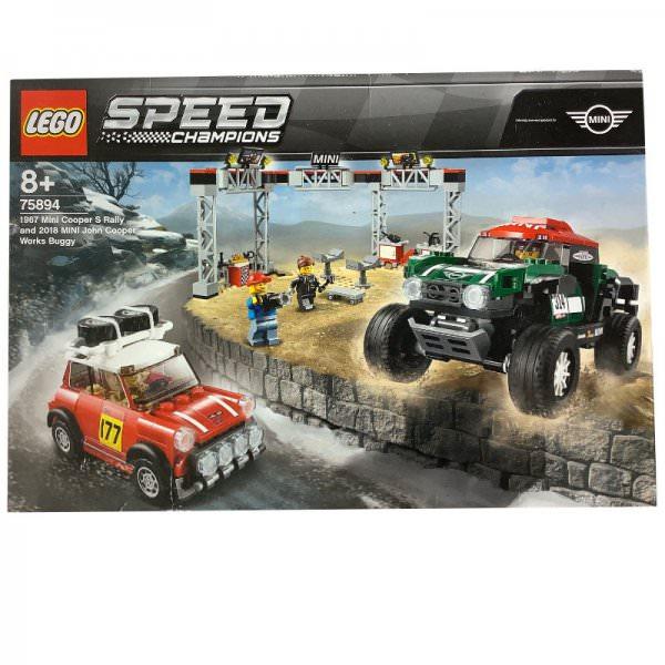 LEGO | 1967 Mini Cooper S Rally und 2018 Mini John Cooper Works Buggy