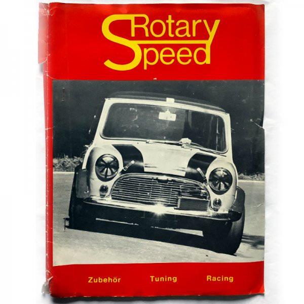 Rotary Speed Catalogue 1973 - Mini Tuning Parts
