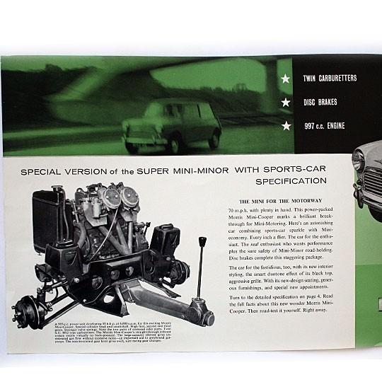 Morris 997 Cooper Brochure english