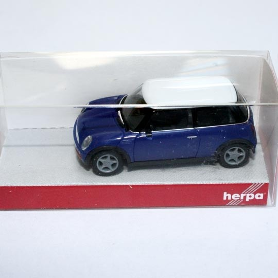 Herpa | BMW New Mini blue