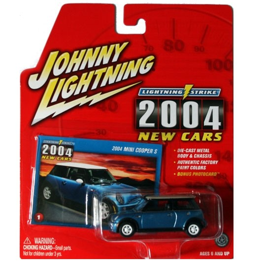 Johnny Lightning | MINI Cooper S blau