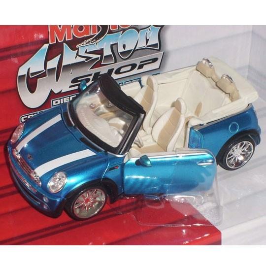 Maisto | BMW Mini Cooper Cabrio Tuning blaumetallic