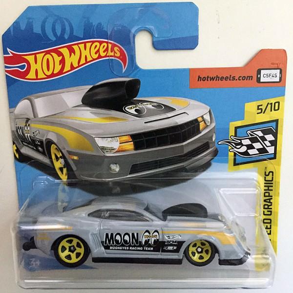 Hot Wheels   '10 Pro Stock Camaro, Moon Eyes, grau