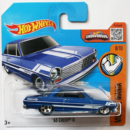 Hot Wheels | Chevy II blaumetallic