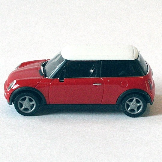 Herpa | BMW MINI Cooper red/white