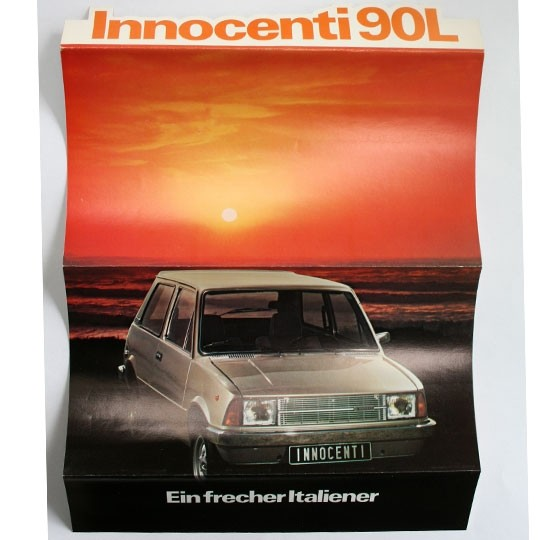 Broshure Innocenti Mini 90L