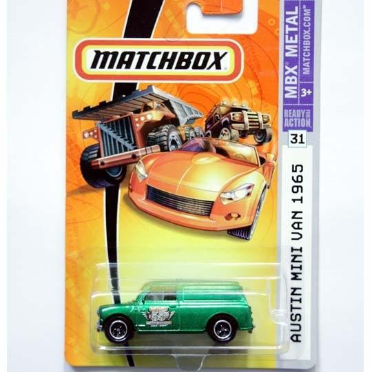Matchbox | Austin Mini Van grünmetallic US