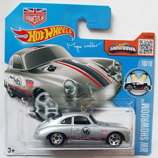 Hot Wheels | Porsche 356A Outlaw silber