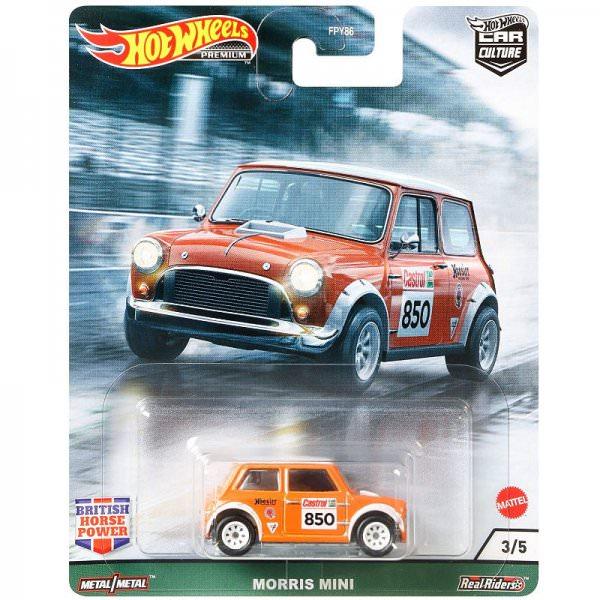 Hot Wheels | British Horse Power #03 Morris Mini #850 orange